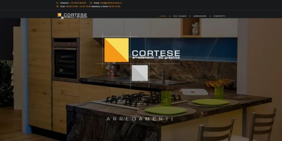Mobilificio Cortese Asiago home - terasweb 2018